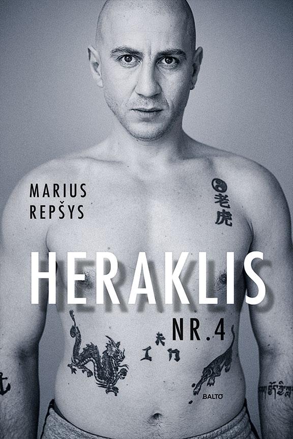 Balto leidybos namai – Heraklis Nr. 4 – Marius Repšys