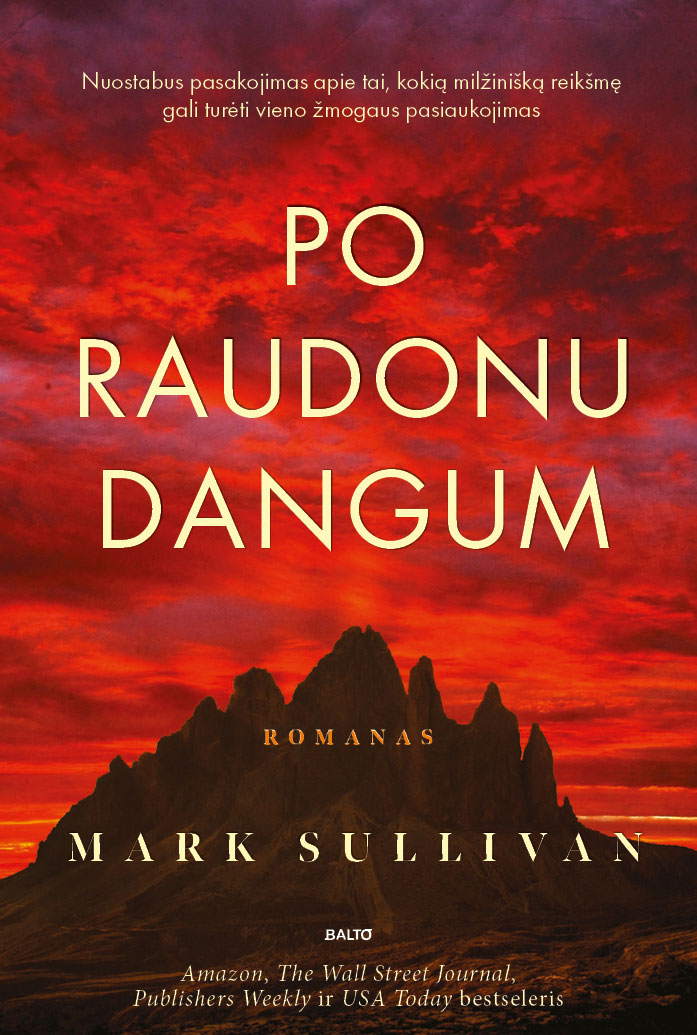 Po raudonu dangum - Mark Sullivan
