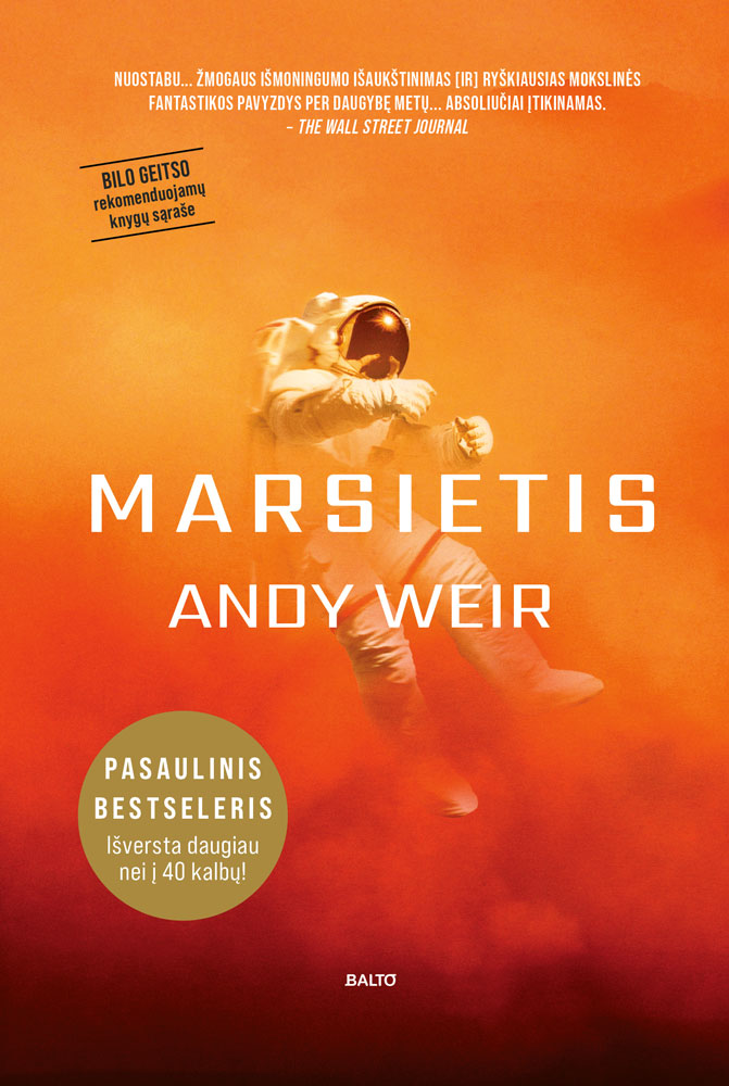 Marsietis - Andy Weir