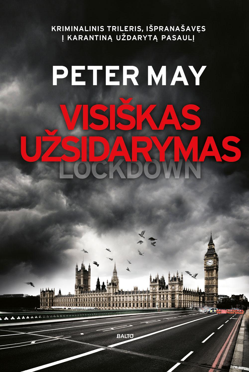 Balto leidybos namai - Visiškas užsidarymas - Peter May