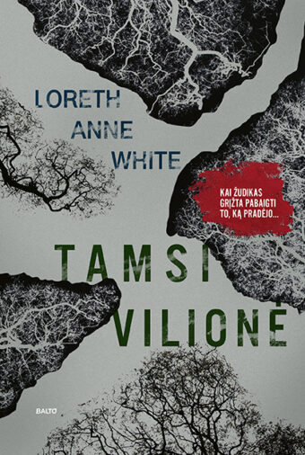 Tamsi vilionė – Loreth Anne White